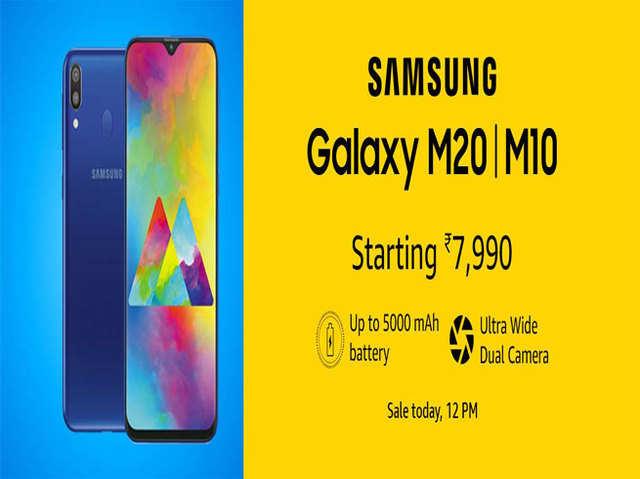 Samsung Galaxy M10 और M20 की पहली सेल शुरू, मिल रहे हैं खास ऑफर