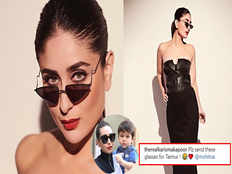 karisma kapoor pulls sister kareena kapoor khans leg asks bebos stylist to get mini shades for taimur