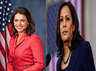 kamala harris and tulsi gabbard to campaign in america for presidential election