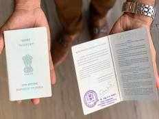 man says mangalore airport authorities tear off his wifes passport