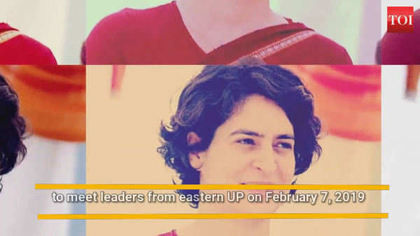 priyanka gandhi to meet leaders from eastern up today