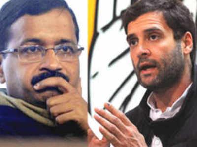 'हाथ' का साथ चाहती है AAP, राजी नहीं राहुल