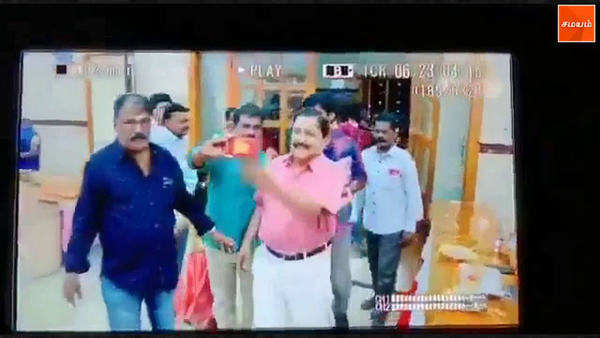 actor sivakumar does it again the way he uses his left had to surprise the selfie addict and send the phone flying is remarkable
