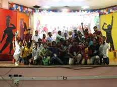 coimbatore rathinam arts and science college wins overall champion cup in 14th karisal thirai vizha