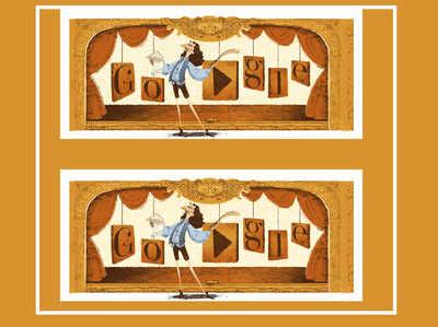 फ्रेंच अभिनेता और नाटककार मॅलिएर की याद में गूगल ने बनाया डूडल