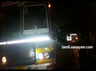 govt bus lorry accident in vellore 20 injured