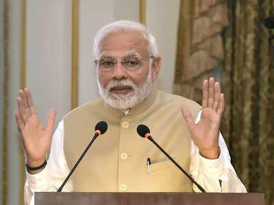 Vrundaavan Aaenge PM Modi, Gareeb Bachaachon Ko Paroseinge 300 Karodveen Thaali