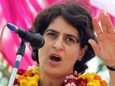 Jahareeli Sharaab Priyanka Ka BJP Par Nishaana, Boleen- Donon Sarkaaron Ki Saraparasti Mein Avaidh Kaarobaar