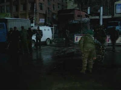 Jammu-Kashmir Laal Chauk Ke Najadeek CRPF Team Par Grenade Se Hamla, 7 Surakshaakarmi Aur 4 Naagrik Ghaayal