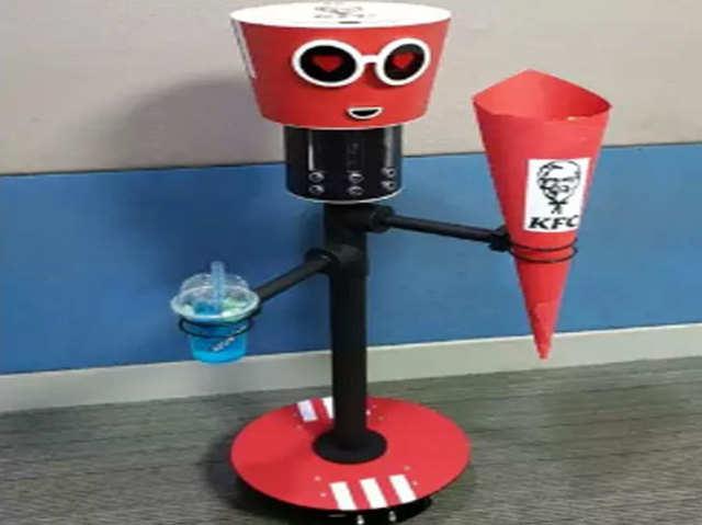 केएफसी में चिकन बकेट और ड्रिंक्स लेकर हाजिर होगा रोबो, इसे जीतने का भी मौका
