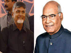 ap cm chandrababu naidu to meet president ramnath kovind