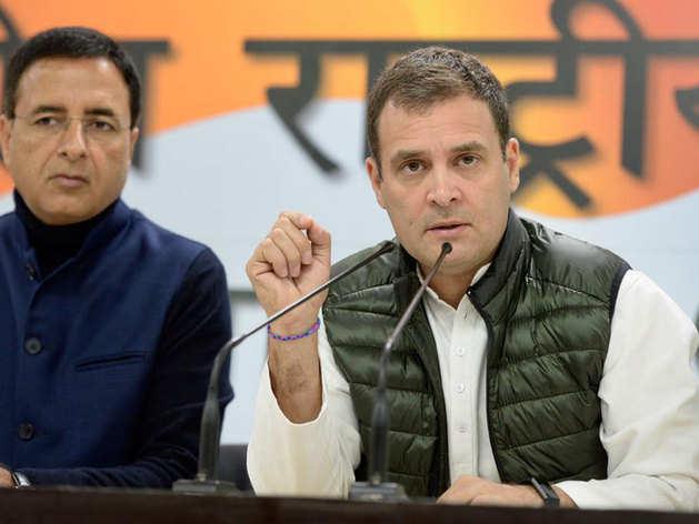 राहुल ने पीएम पर गोपनीयता से समझौते का आरोप लगाया