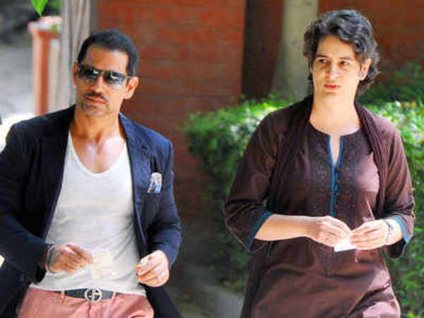 robert vadra reaches jaipur ed office priyanka gandhi shows support