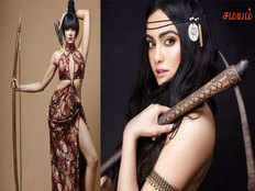 adah sharma axe murdered goes topless