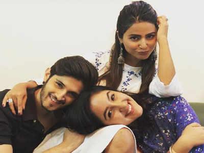 रोहन मेहरा और अशनूर कौर के साथ हिना खान