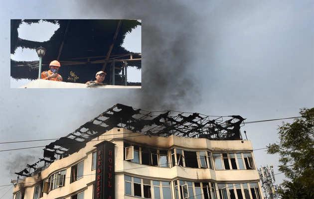 करोलबाग: 200 ऐसे होटल जहां आग लगने पर हो सकती है बड़ी दुर्घटना