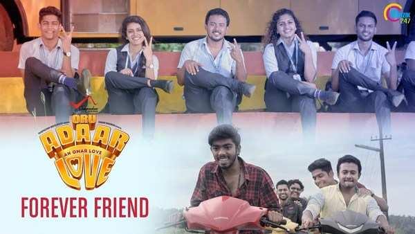 forever friend song from oru adaar love