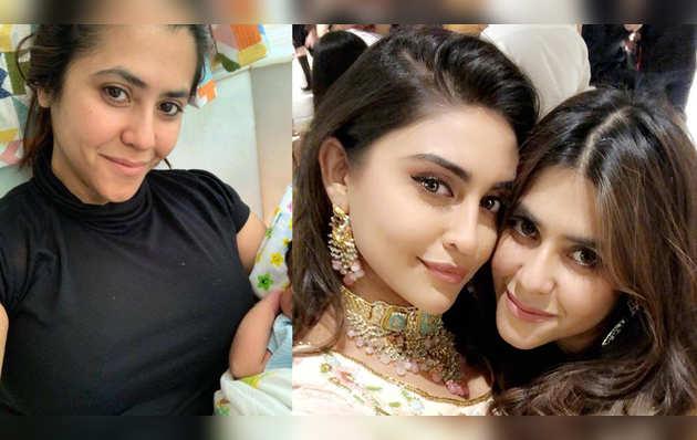 Krystle D'Souza reveals reason behind 'E' in Ekta Kapoor's son Ravie Kapoor's name