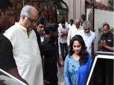 thala ajith and his wife shalini to attend sridevis 1st death ceremony at chennai
