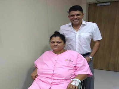 सर्जन के साथ महिला कॉन्स्टेबल रुपाली कदम