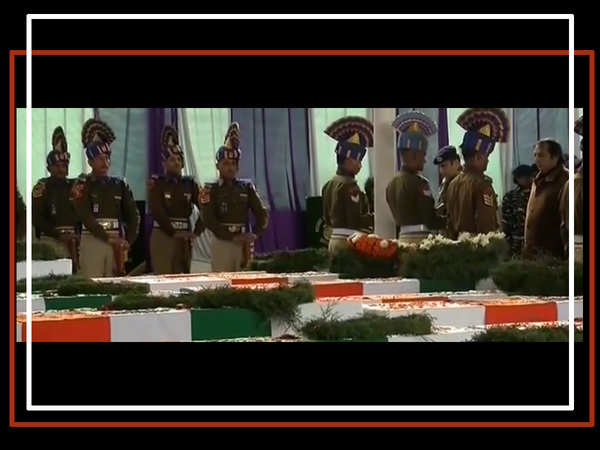 pulwama attack india mourns it martyrs