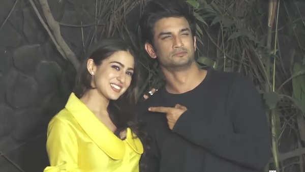 did sushant singh rajput and sara ali khan ask paparazzi to delete their photos