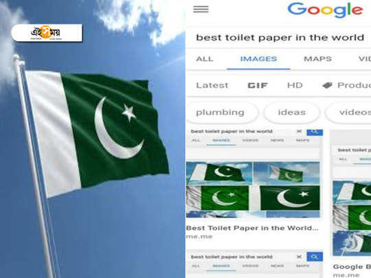 Google says that Pakistan flag is the best toilet paper in world
