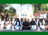 puducherry cm dharna entered in to 6th day