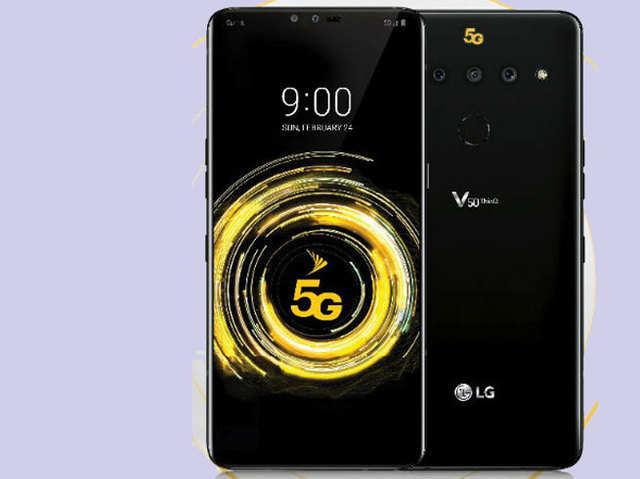 LG V50 थिंक्यू (फोटो- इवान ब्लास)