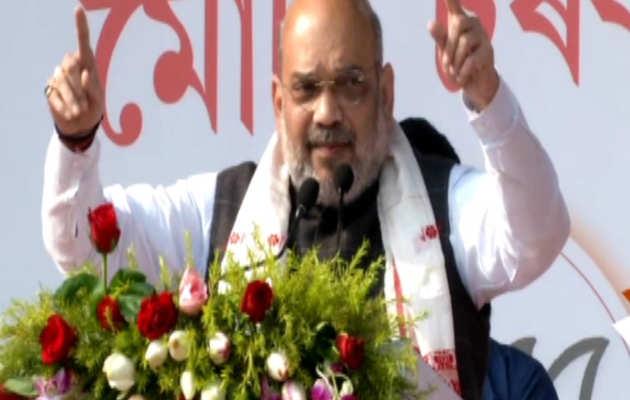 अमित शाह ने कहा- असम को दूसरा कश्मीर नहीं बनने देंगे