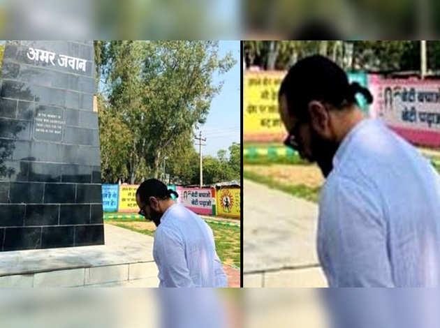पुलवामा आतंकी हमला: सैफ अली खान ने शहीदों को दी श्रद्धांजलि