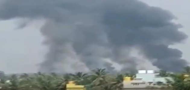 बेंगलुरु एयर शो: IAF के 2 एयरक्राफ्ट हुए क्रैश