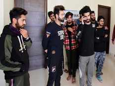 kashmiri students gets shelter in gurudwara of ambala
