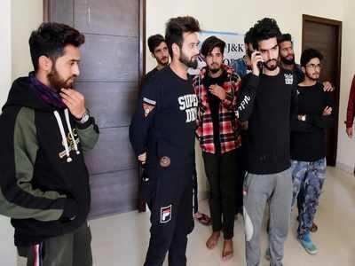 कश्मीरी छात्रों को अंबाला में मिली शरण