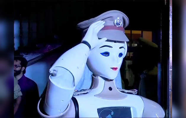 ह्यूमनॉइड रोबॉट कॉप-KP Bot