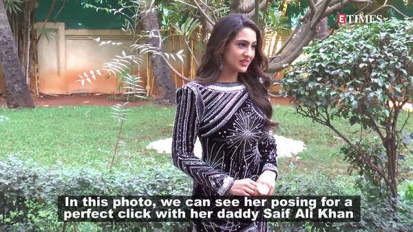 throwback photo of sara ali khan with daddy saif ali khan goes viral