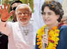 rahul gandhi and priyanka gandhi have no match to narendra modi leadership says shiv sena over pre poll alliance with bjp