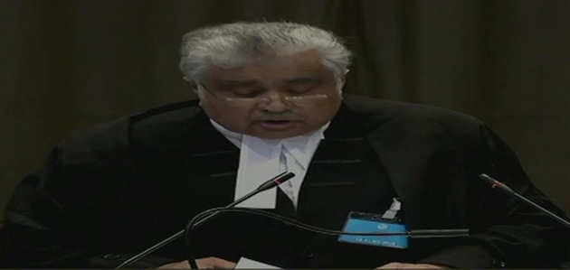 जाधव केस: ICJ में भारत ने पाक को घेरा, अभद्र भाषा के इस्तेमाल पर जताई कड़ी आपत्ति
