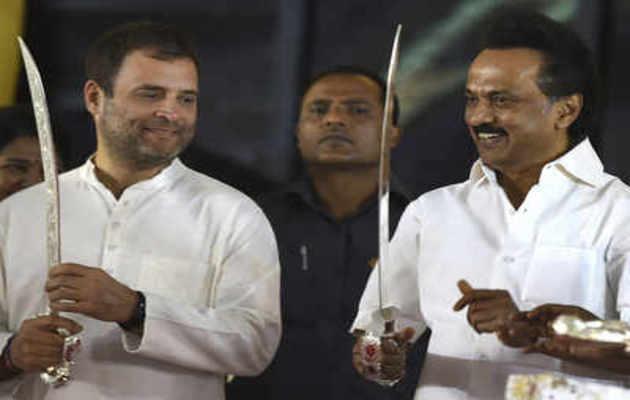 तमिलनाडु में कांग्रेस का डीएमके से गठबंधन, मिलीं 9 सीटें