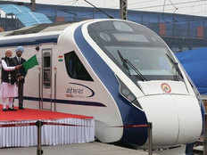 stone hurled at vande bharat express for 3rd time in 2 months