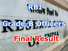 rbi grade b officer recruitment final result has released check details here
