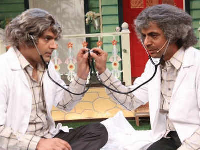 कपिल शर्मा और सुनील ग्रोवर
