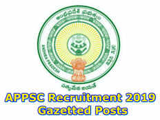 andhra pradesh bc welfare gazetted posts notification 2019 released check here