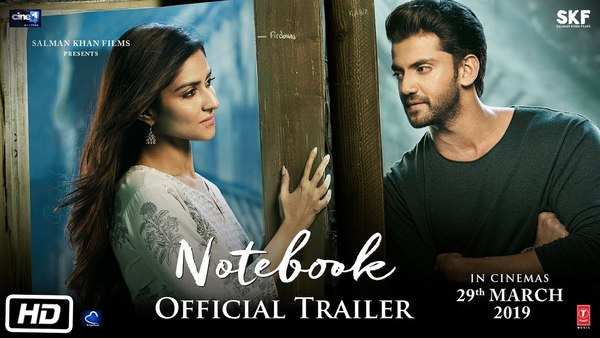 official trailer of pranutan bahl and zaheer iqbal starrer film notebook
