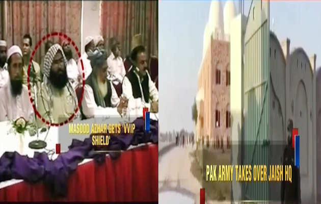 पुलवामा हमला: मसूद अज़हर को मिली 'वीवीआईपी सुरक्षा' जैश के मुख्यालय पर पाक सेना का पहरा