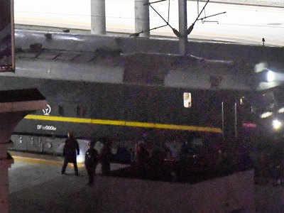 यही ट्रेन देर रात चीन पहुंची