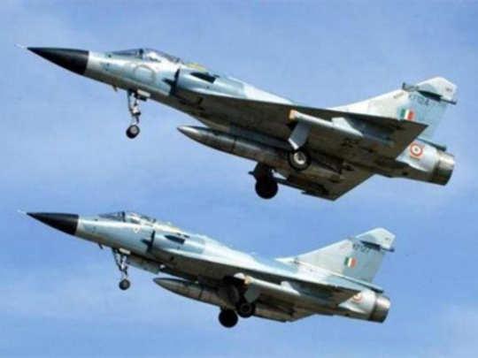 Air Strike on Pakistan: भारताची ताकद बघून पाकिस्तानी विमानं पळाली!