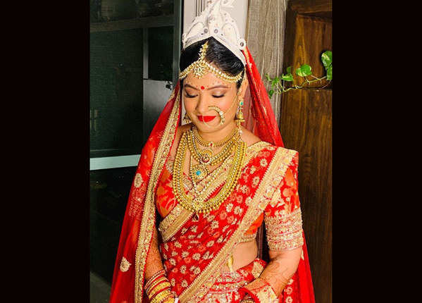 शादी में ऐसी नजर आईं विजेयता