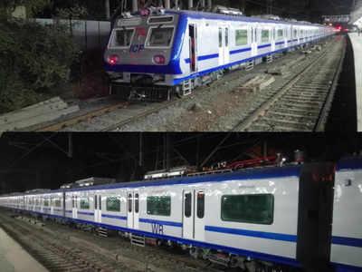 मुंबई पहुंच चुकी है दूसरी एसी लोकल ट्रेन