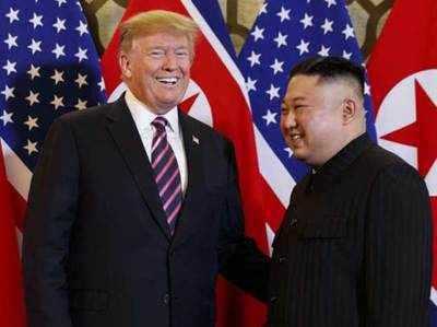 ट्रंप-किम हनोई शिखर सम्मेलन में किसी समझौते पर दस्तखत नहीं हुए